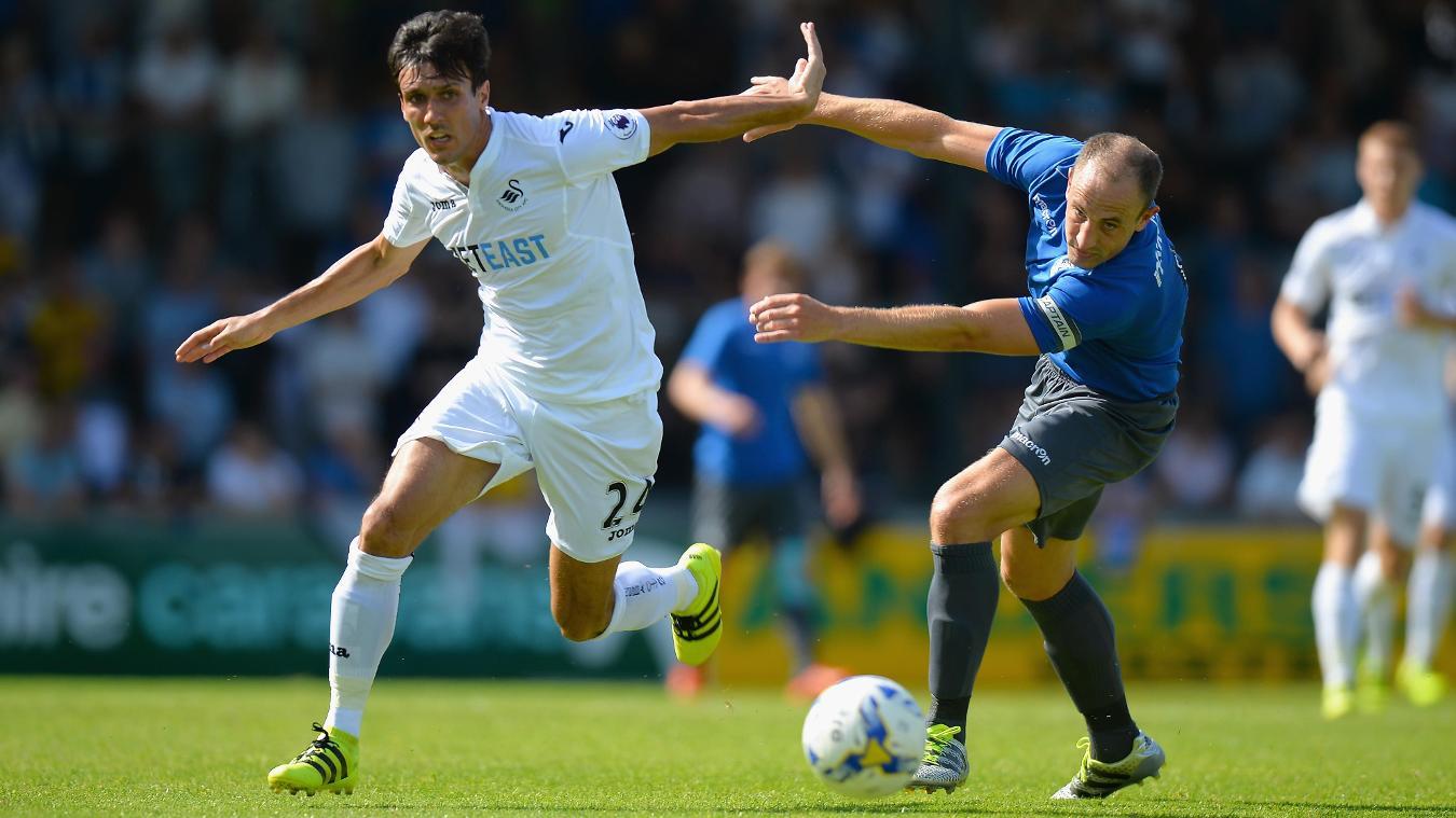 Bristol Rovers 1-5 Swansea City, 23 July