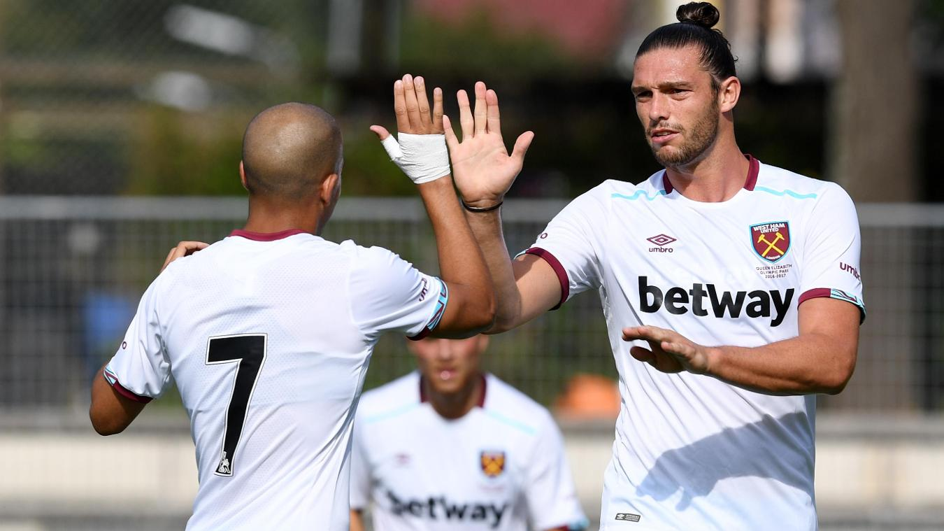 Karlsruher 0-3 West Ham United, 23 July