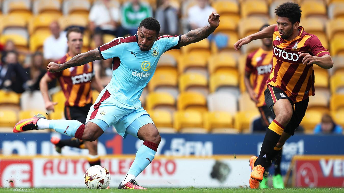 Bradford City 1-4 Burnley, 23 July