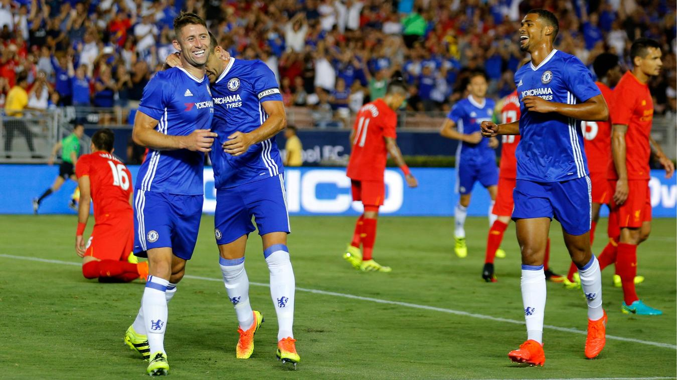 Chelsea 1-0 Liverpool, 27 July  Premier League clubs in summer friendlies 4834269