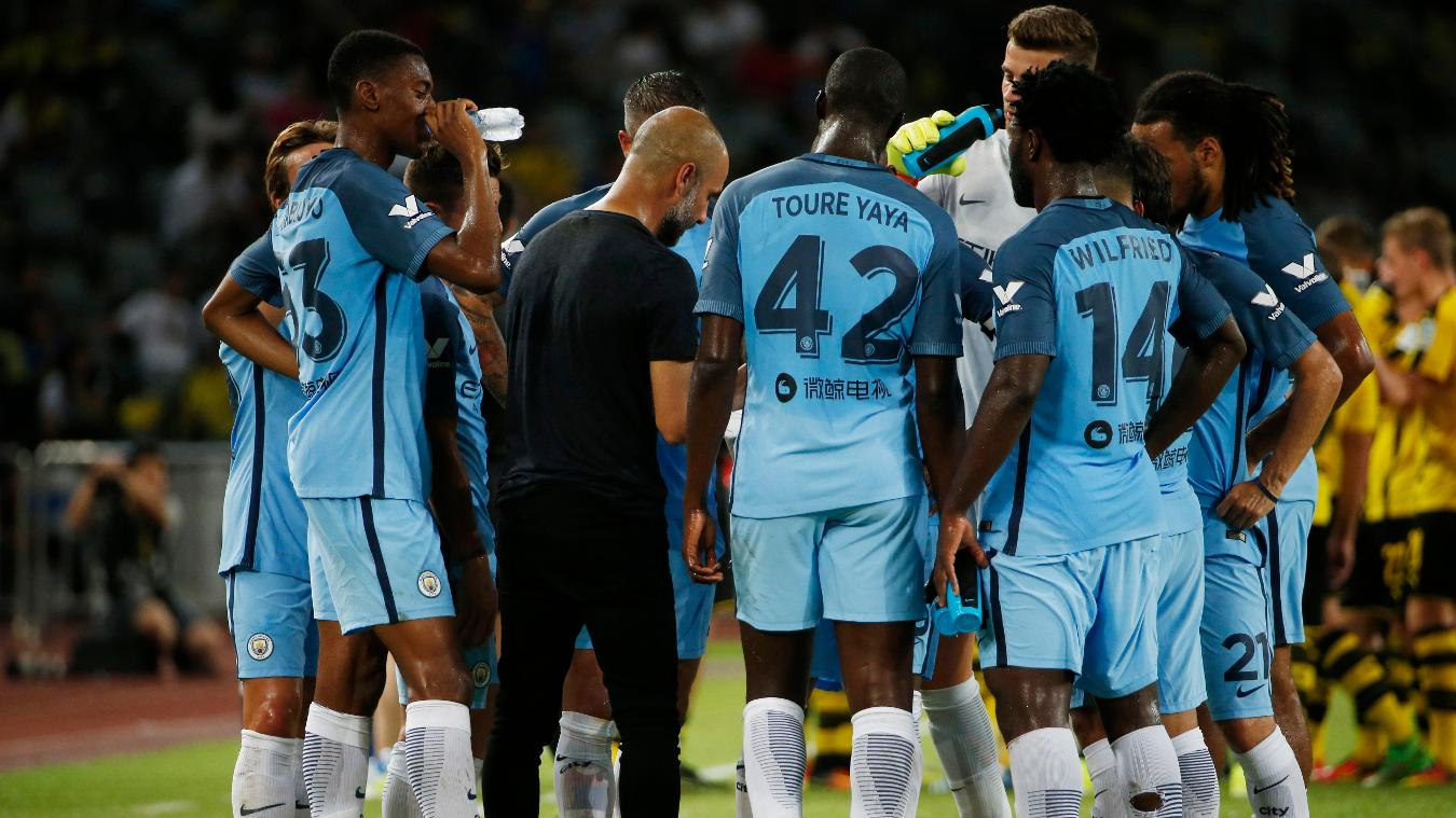 Borussia Dortmund 1-1 Manchester City (5-6 on pens), 28 July