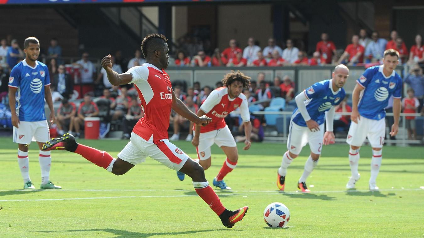 MLS All-Stars 1-2 Arsenal, 29 July  Premier League clubs in summer friendlies GettyImages 584274662
