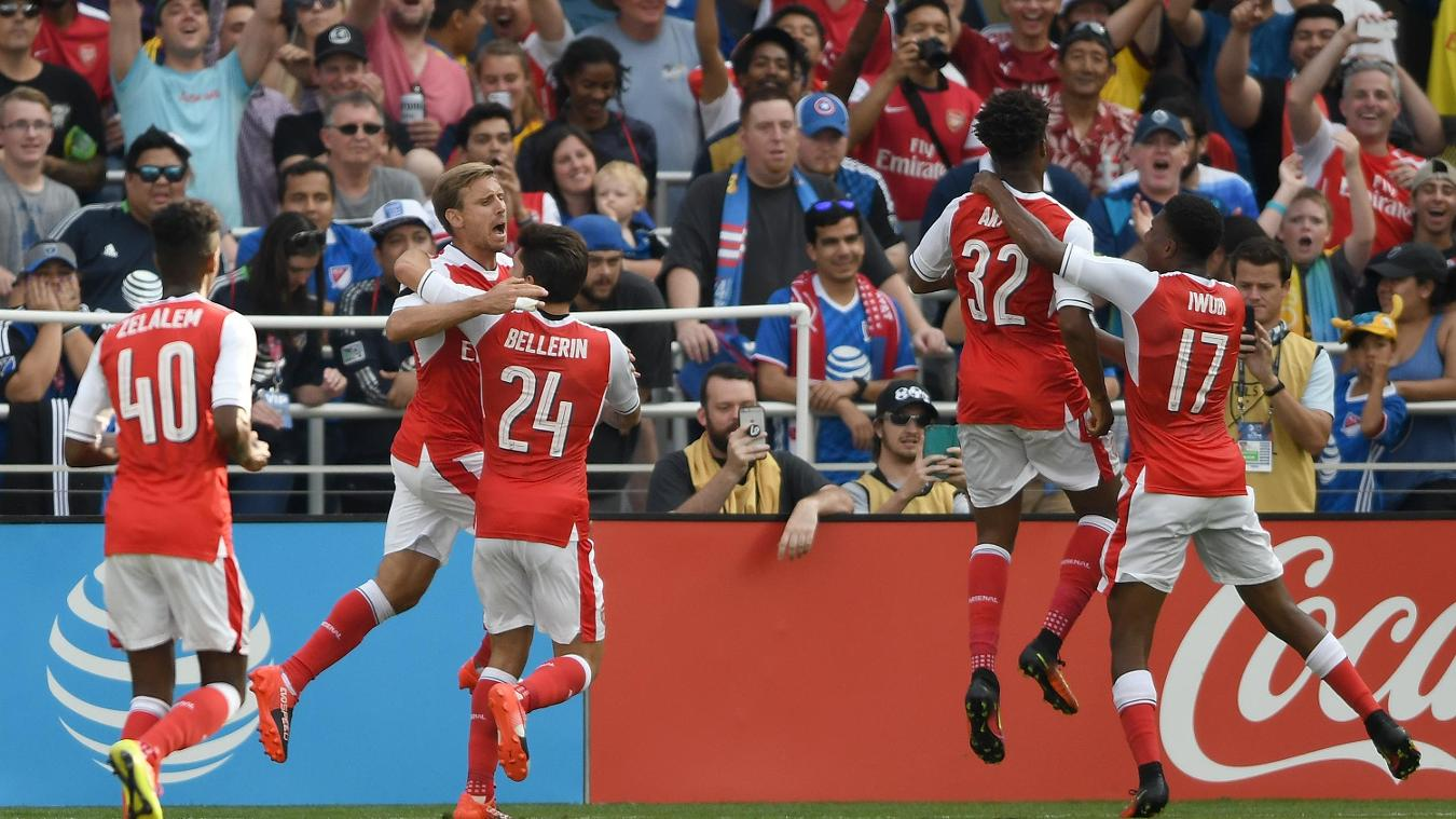 MLS All-Stars 1-2 Arsenal, 29 July  Premier League clubs in summer friendlies GettyImages 584448306