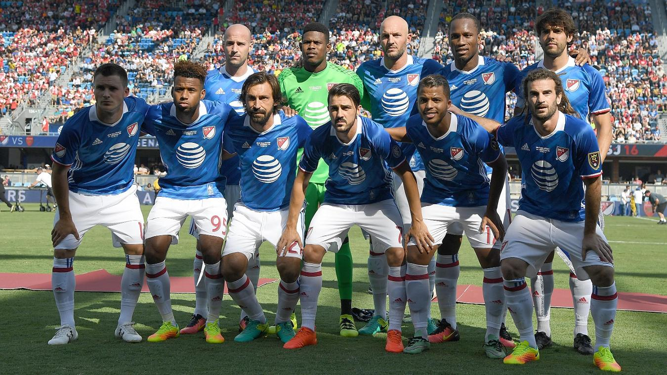 MLS All-Stars 1-2 Arsenal, 29 July  Premier League clubs in summer friendlies GettyImages 584275034