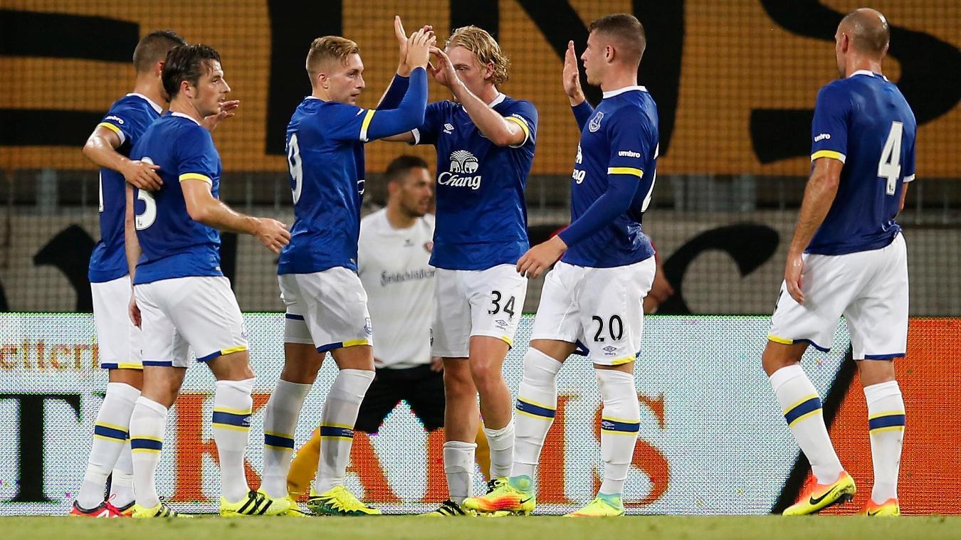 Dynamo Dresden 2-1 Everton, 29 July