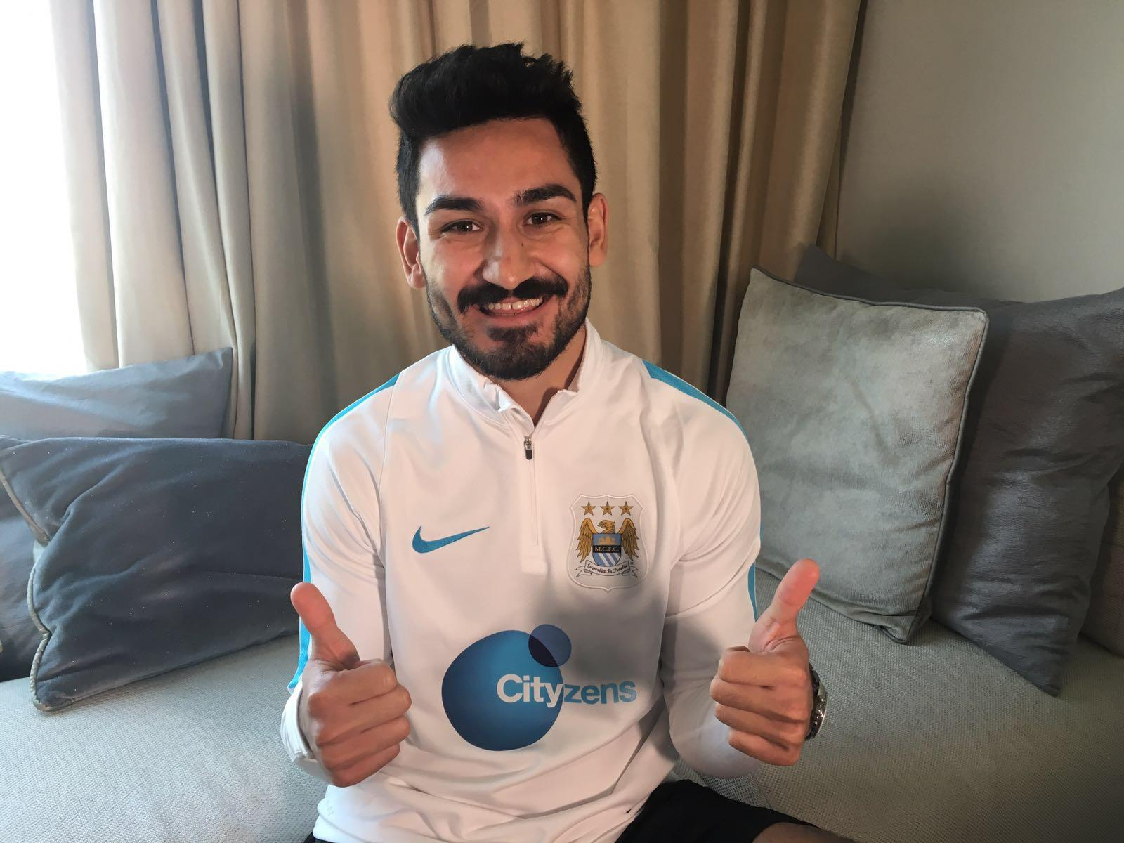 Ilkay Gundogan Wallpaper Gundogan aiming...