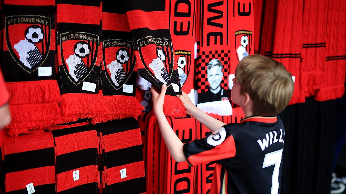 AFC Bournemouth merchandise