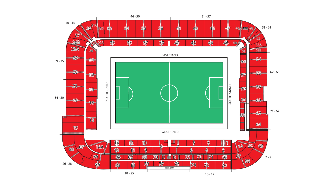 Riverside Stadium Middlesbrough Fc Info Amp Map Premier