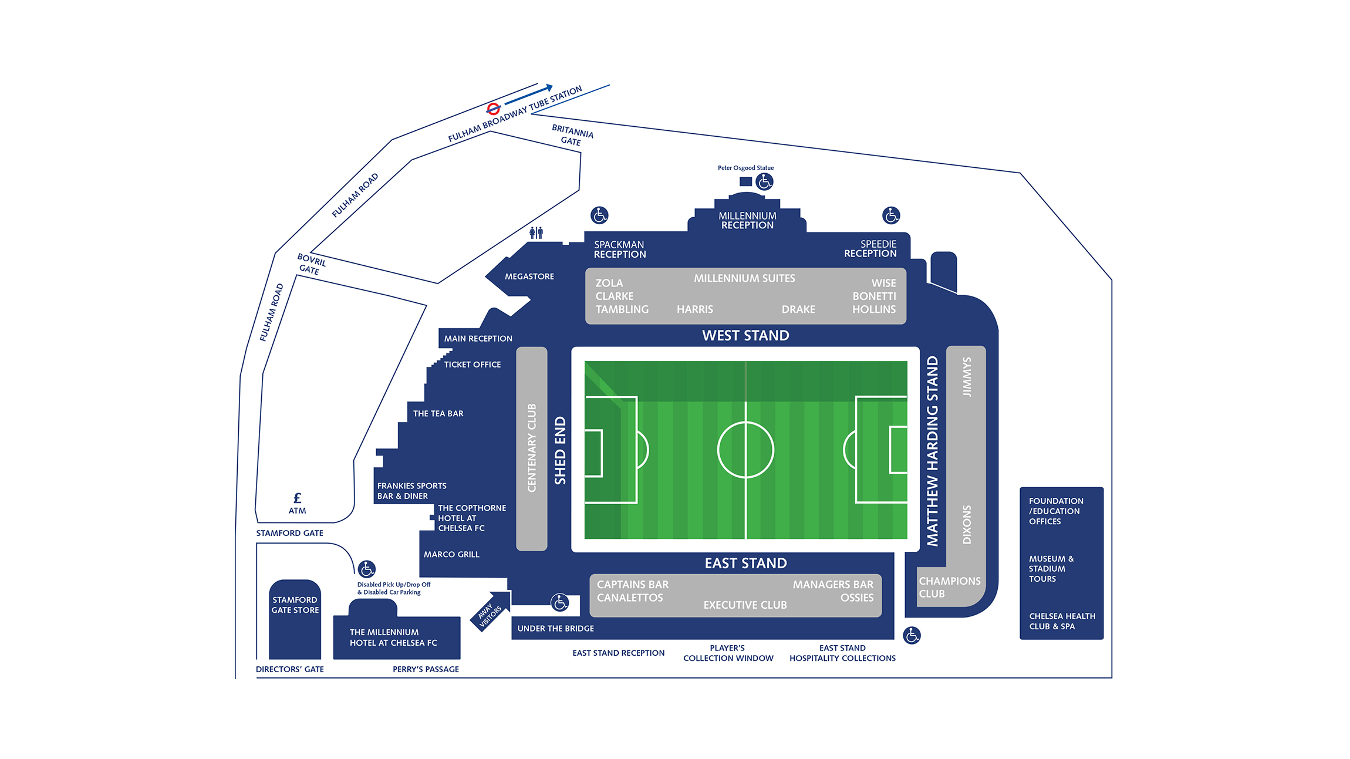 Stamford Bridge Stadium map v3