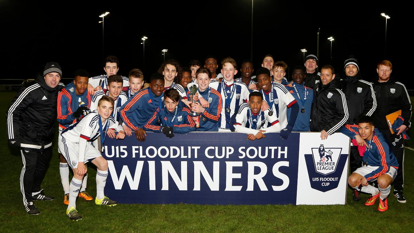 U15 Floodlit Cup South: West Brom