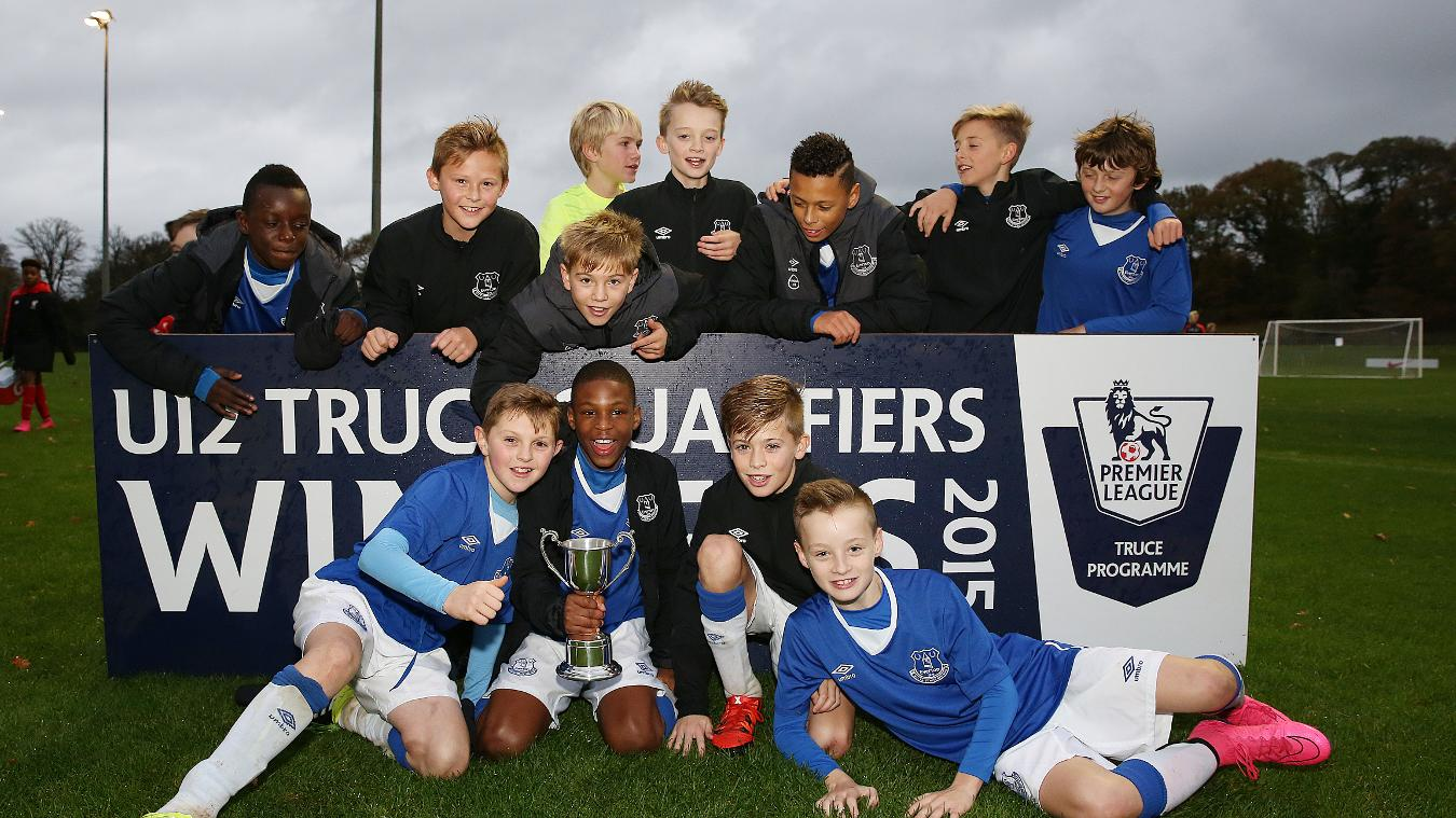 U12 Christmas Truce Qualifier (Lilleshall): Everton