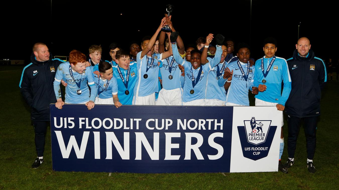 U15 Floodlit Cup North: Man City