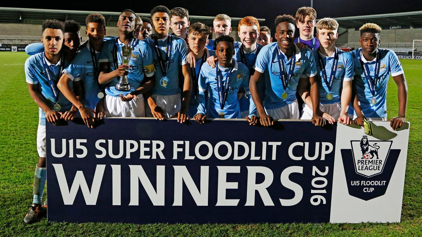 U15 Super Floodlit Cup: Man City
