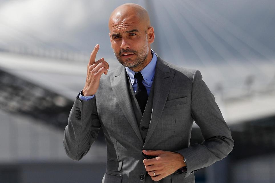 Pep Guardiola Man City presentation