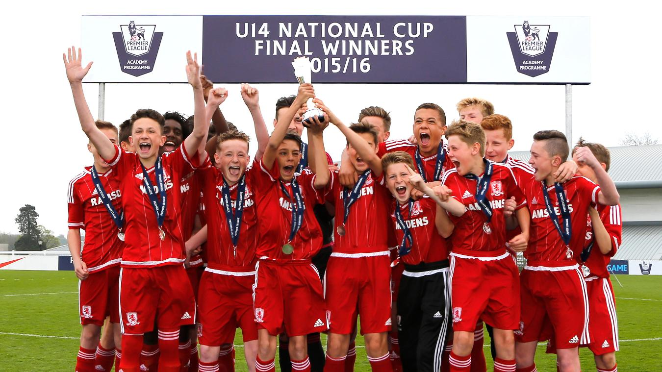 U14 National Cup:- Middlesbrough