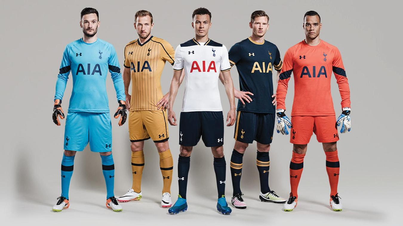 Premier League Kits For 2016 17