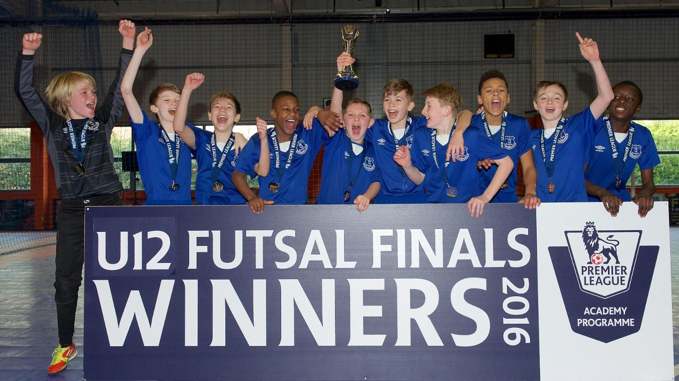 U12 Futsal Finals: Everton