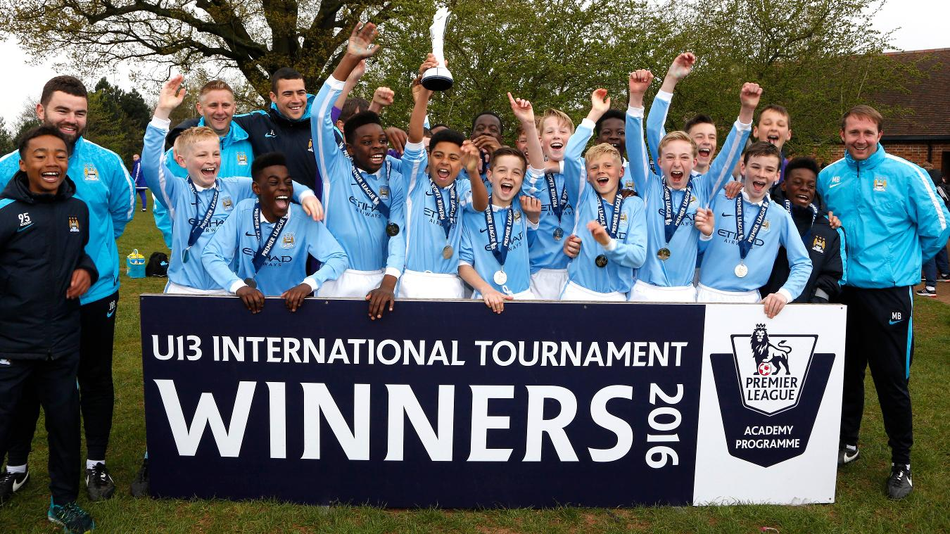 U13 International Tournament: Man City