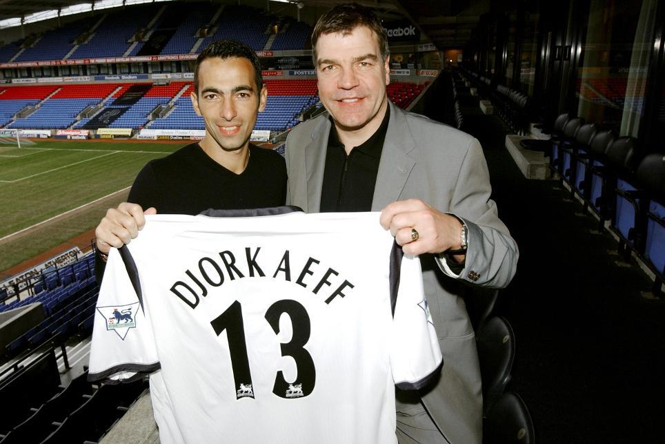 Sam Allardyce signs Youri Djorkaeff for Bolton Wanderers