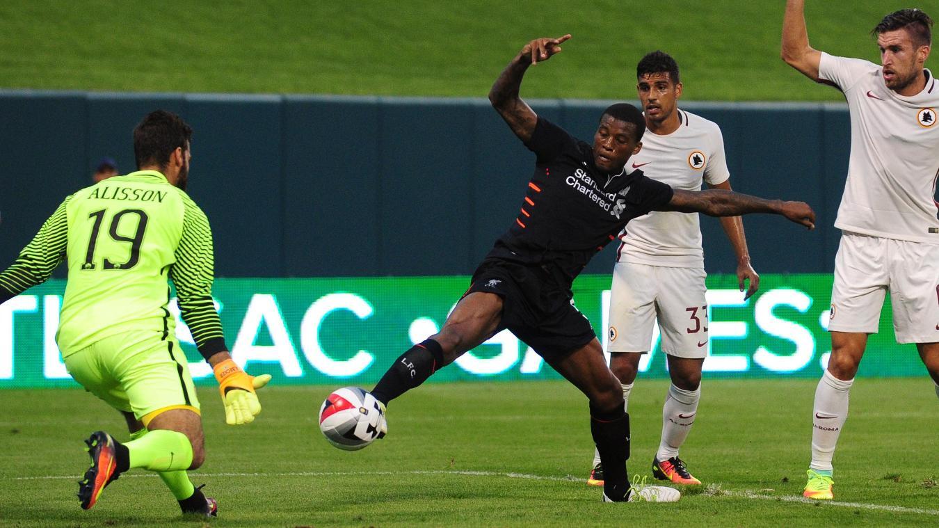 Roma 2-1 Liverpool, 1 August
