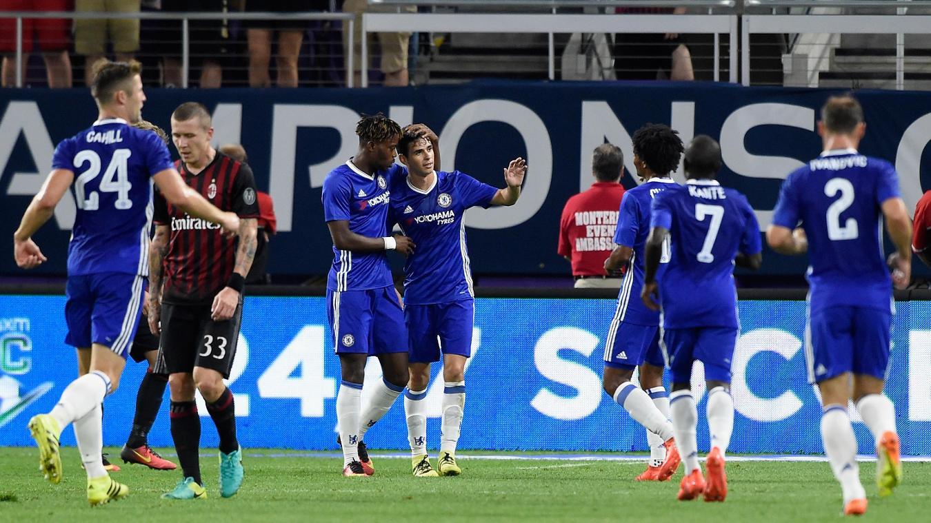 Chelsea 3-1 AC Milan, 3 August