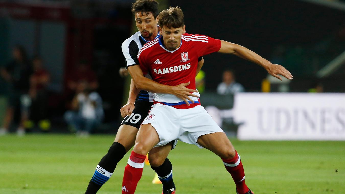 Udinese 0-0 Middlesbrough, 3 August
