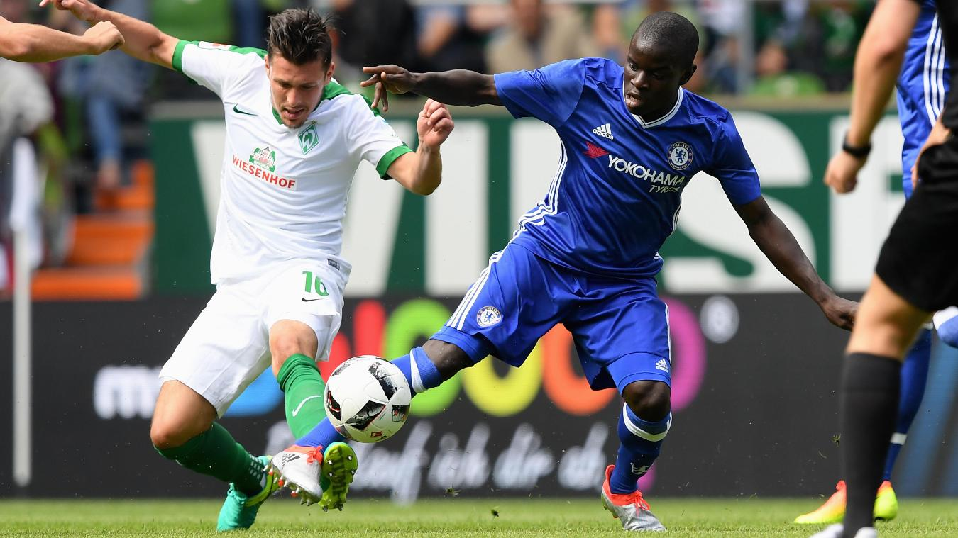 N'Golo Kante would allow Antonio Conte to play with a front four