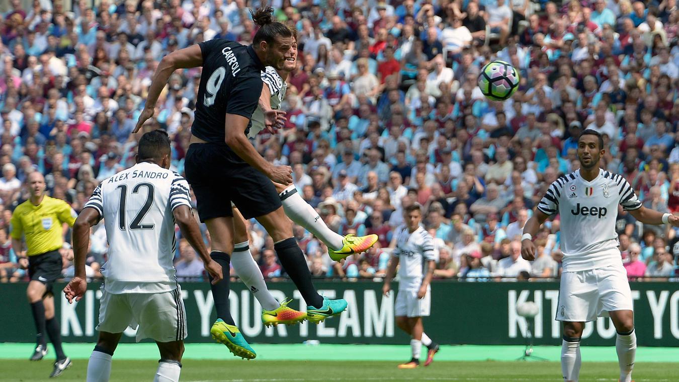 West Ham United 2-3 Juventus, 7 August
