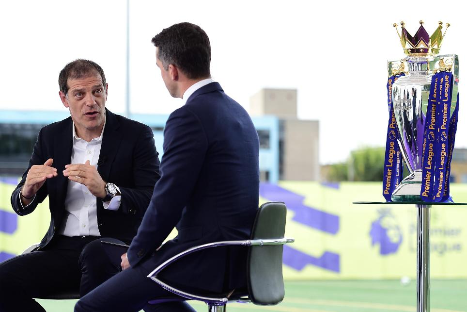 Slaven Biilic, West Ham manager, Premier League Season Launch
