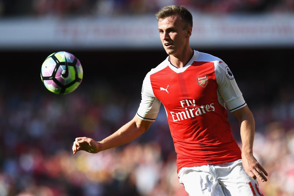 Arsenal v Liverpool - Rob Holding