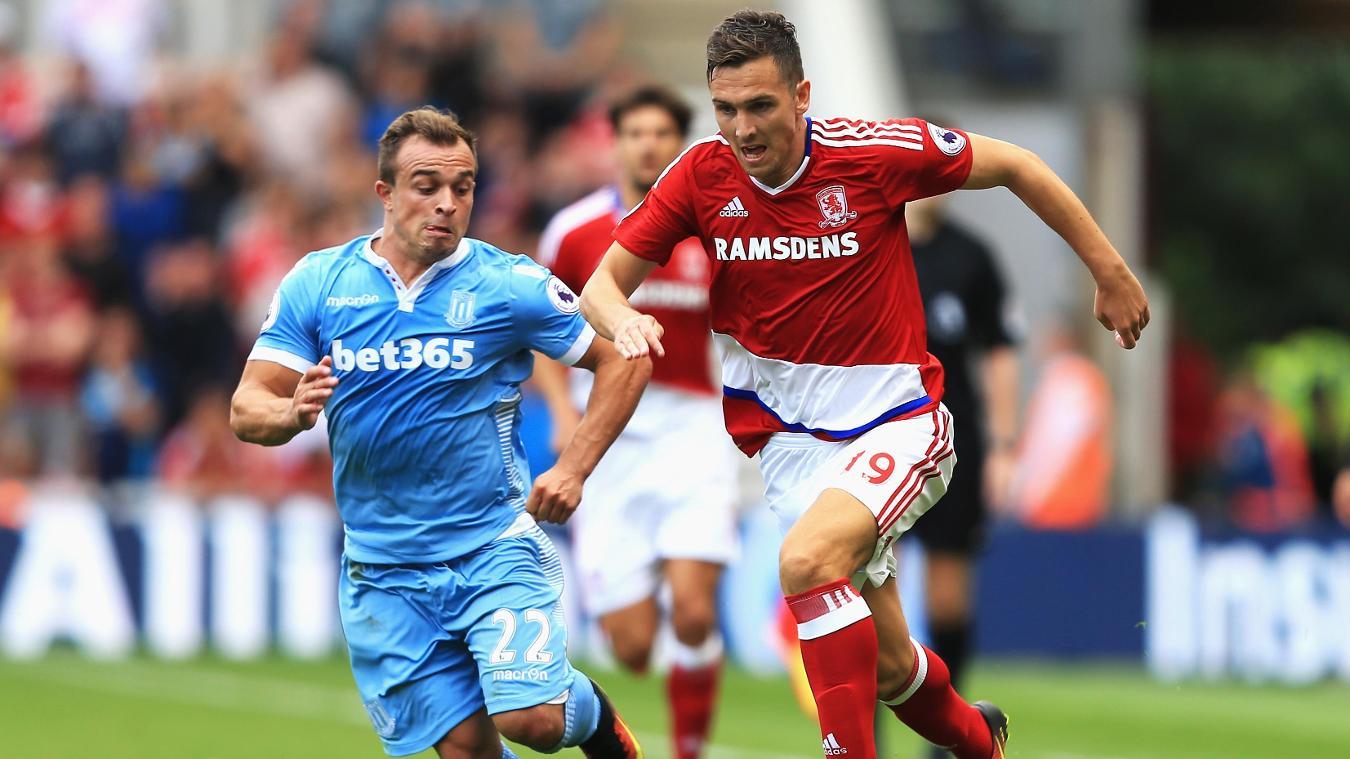 Middlesbrough v Stoke City