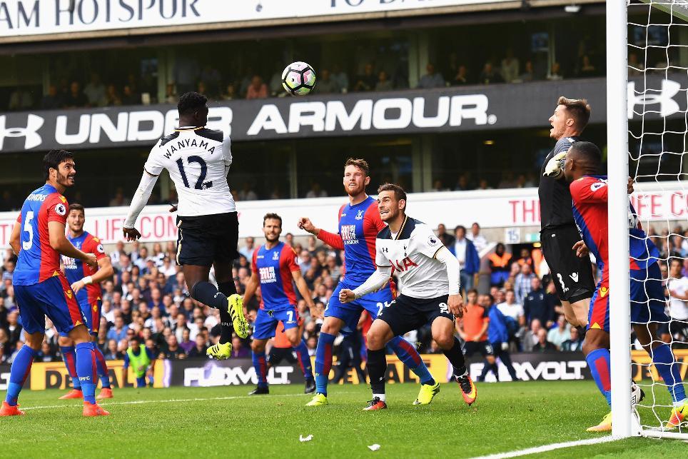 Tottenham Hotspur 1-0 Crystal Palace