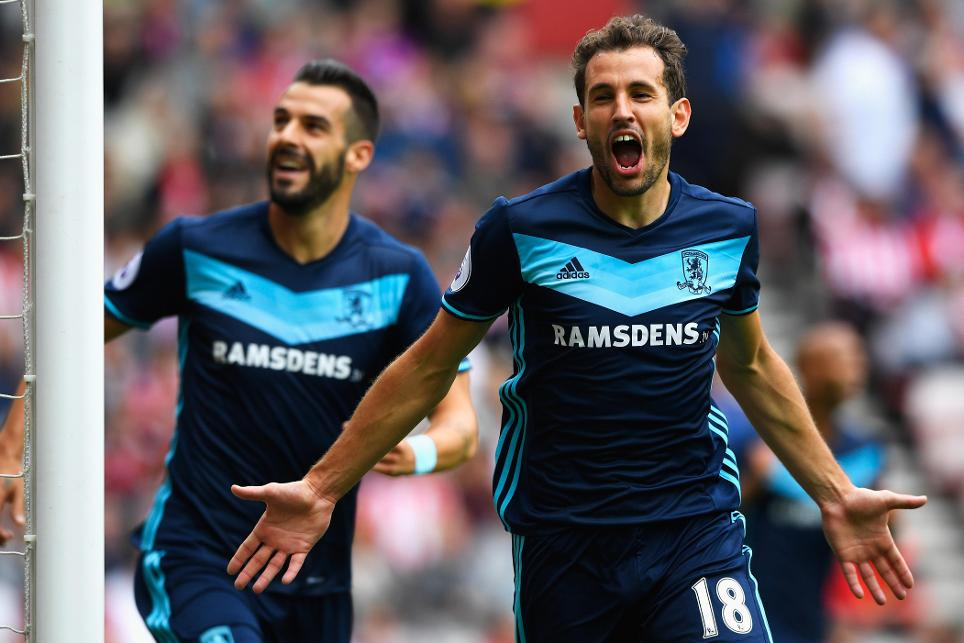 Cristhian Stuani, Sunderland vs Middlesbrough