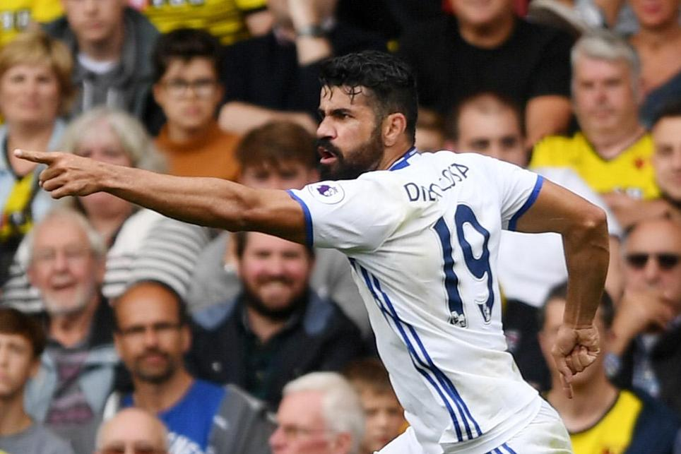 Diego Costa, Watford vs Chelsea