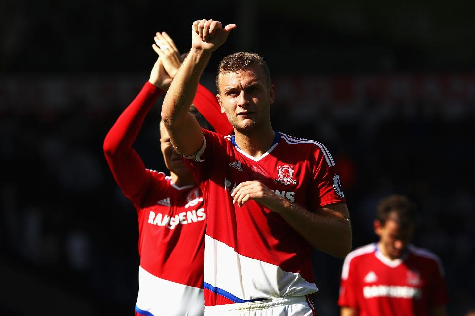 West Bromwich Albion v Middlesbrough, Ben Gibson