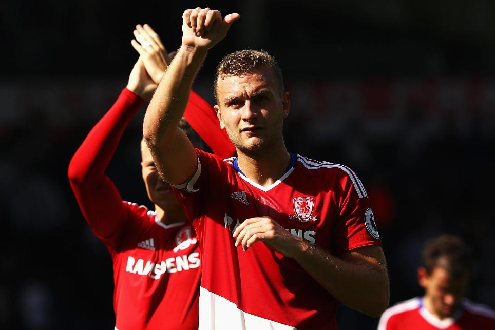 Ben Gibson, West Bromwich Albion vs Middlesbrough