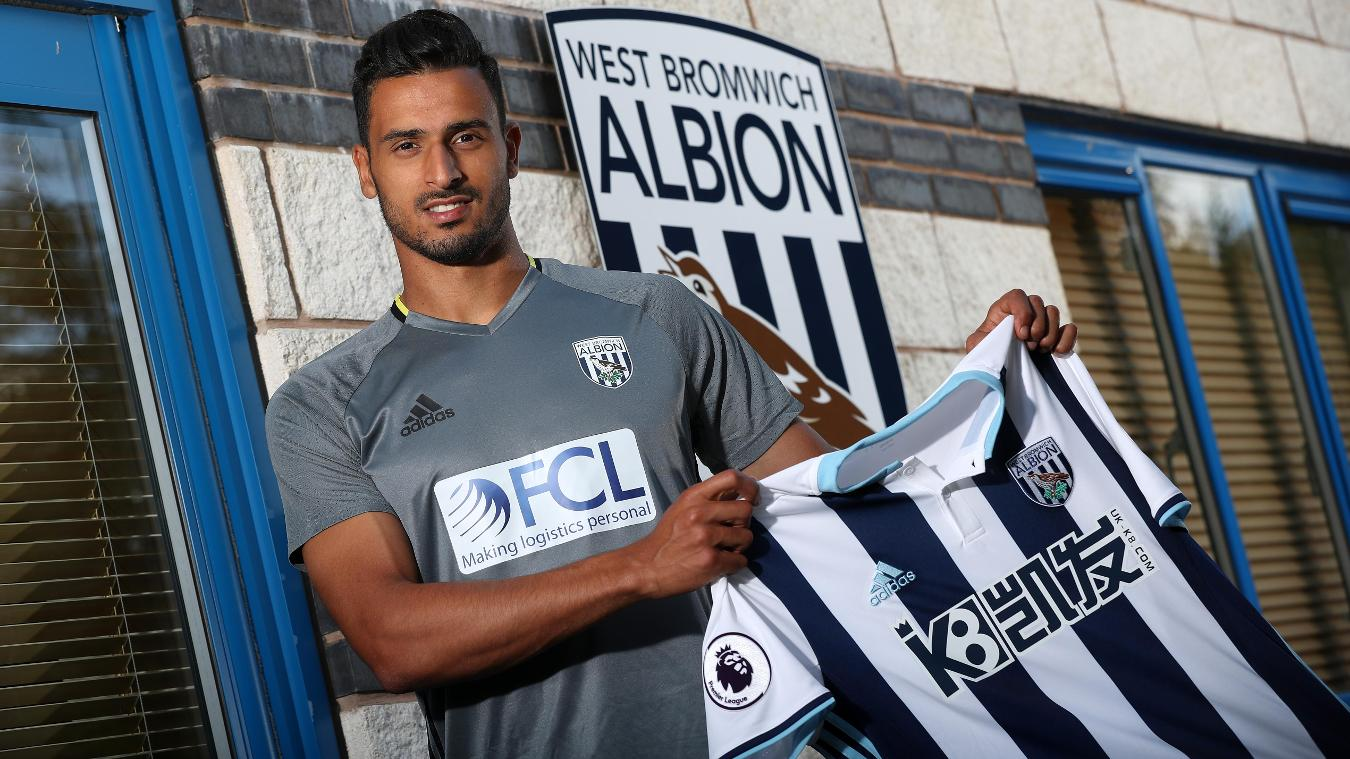 New West Brom signing Nacer Chadli