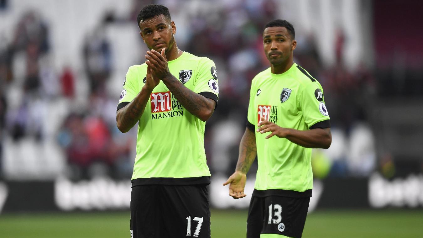 Josh King and Callum Wilson, AFC Bournemouth