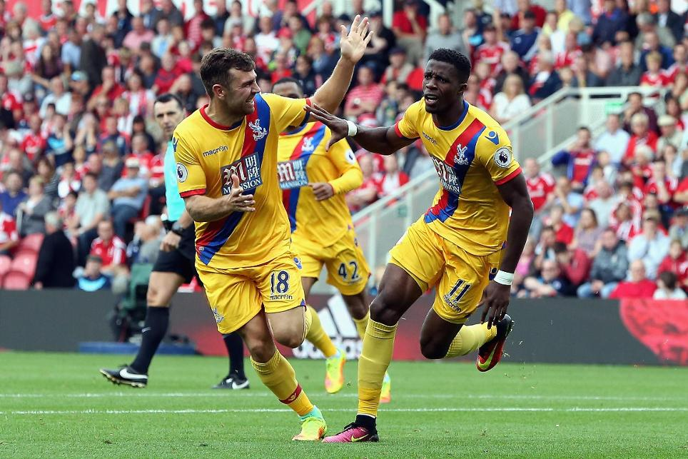 Wildried Zaha, Crystal Palace