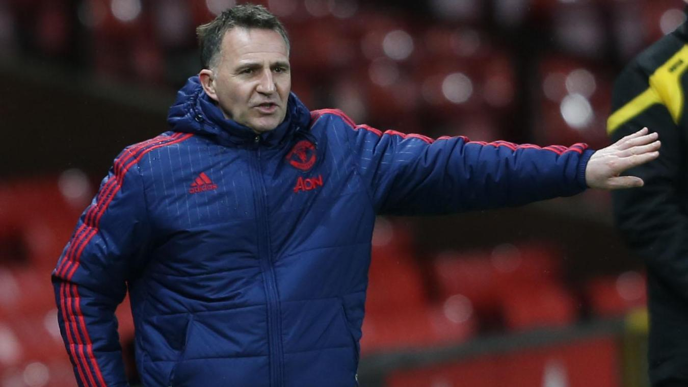 Warren Joyce, Man Utd coach, International Cup