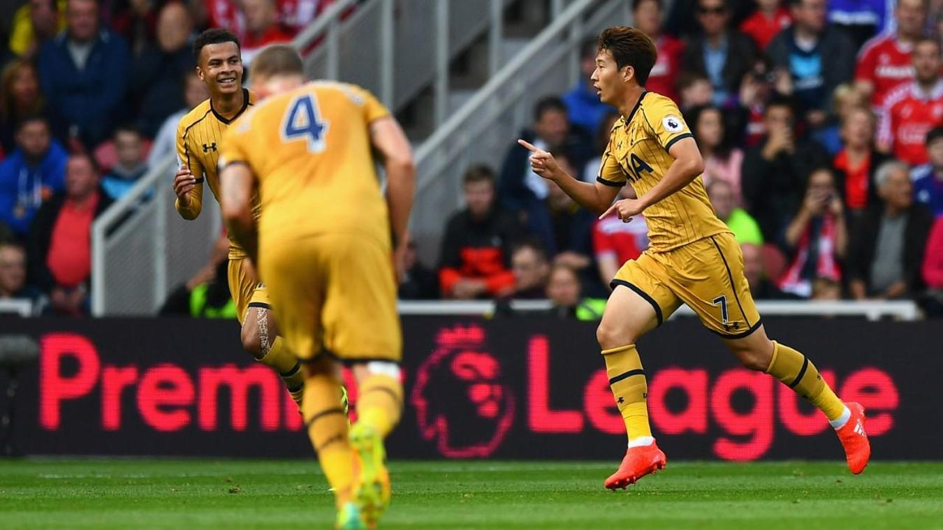 Middlesbrough 1-2 Spurs