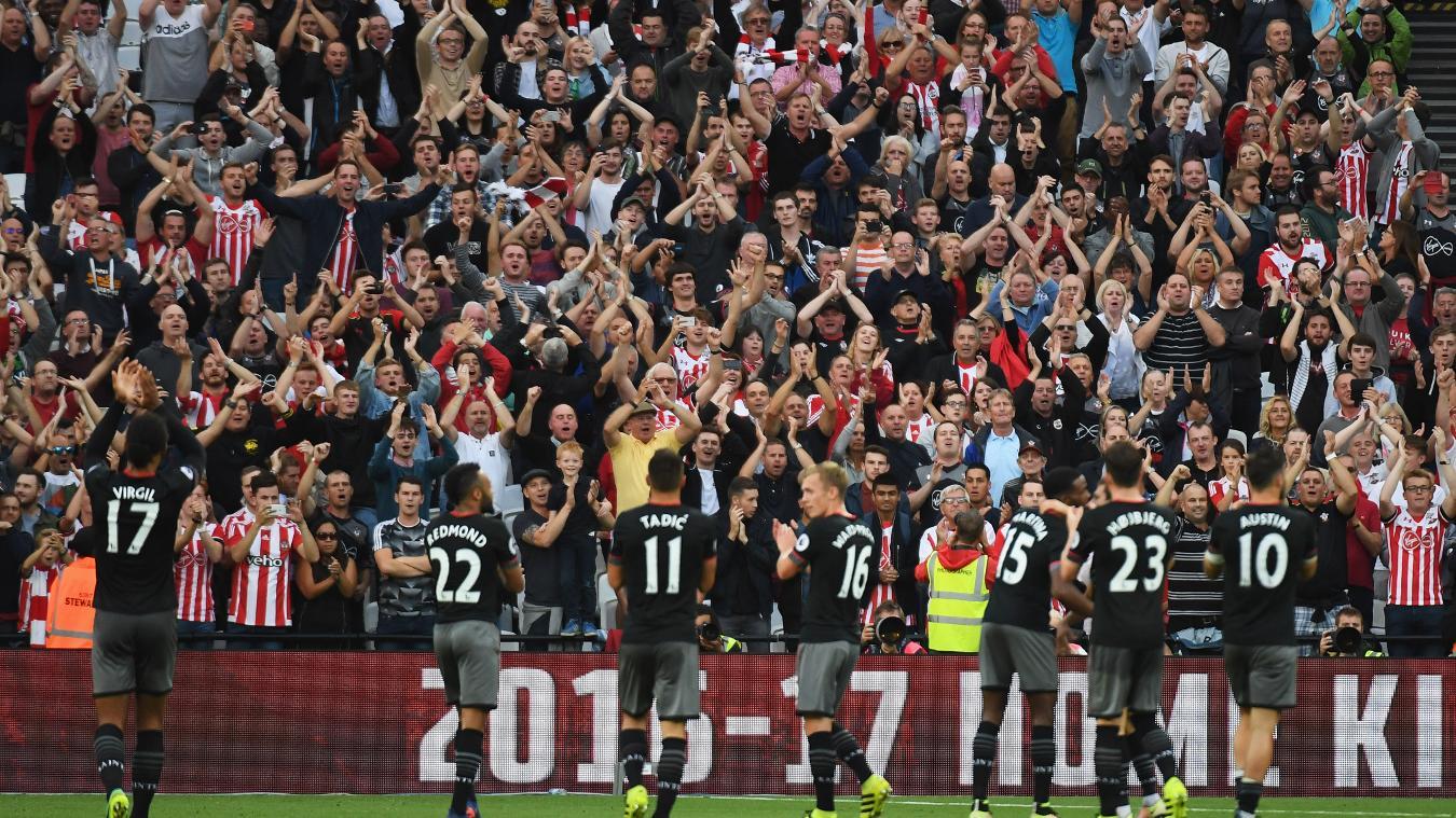 West Ham 0-3 Southampton