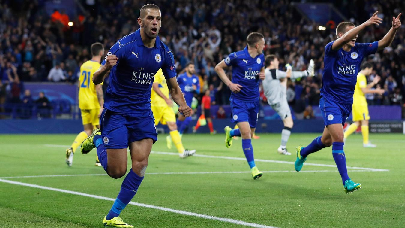 Islam Slimani, Leicester City