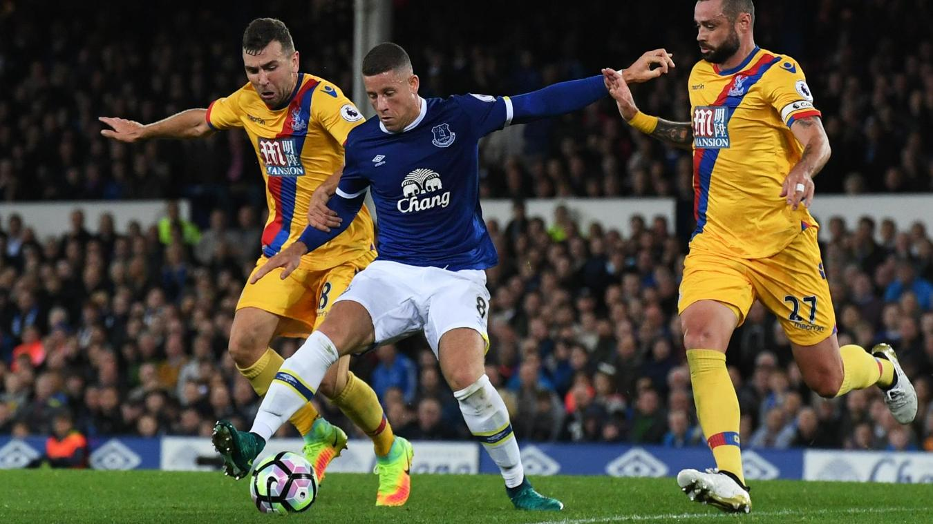 Everton v Crystal Palace, 300916, Ross Barkley