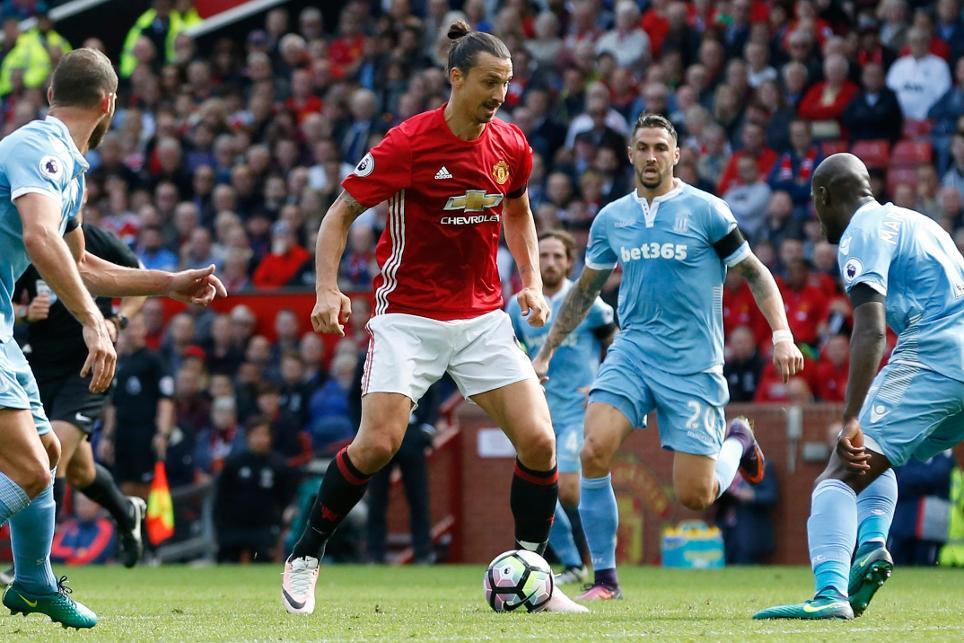 Manchester United v Stoke City - Premier League, Zlatan Ibrahimovich