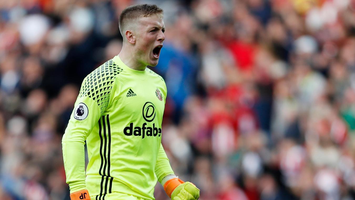 Sunderland v West Bromwich Albion, Jordan Pickford