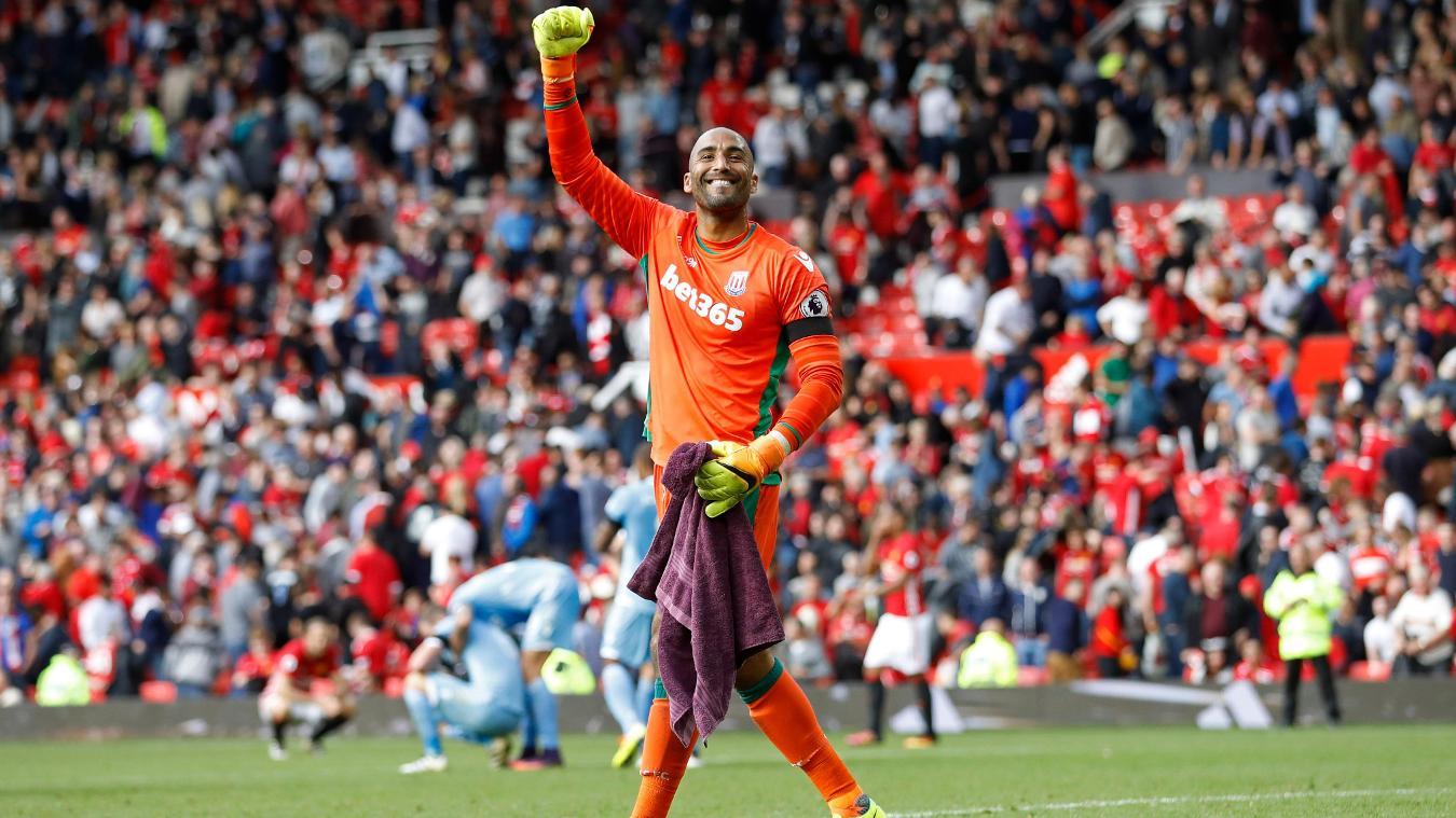 Manchester United v Stoke City - Premier League, Lee Grant