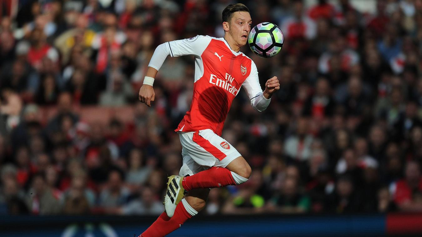 Mesut Ozil, Arsenal v Swansea City