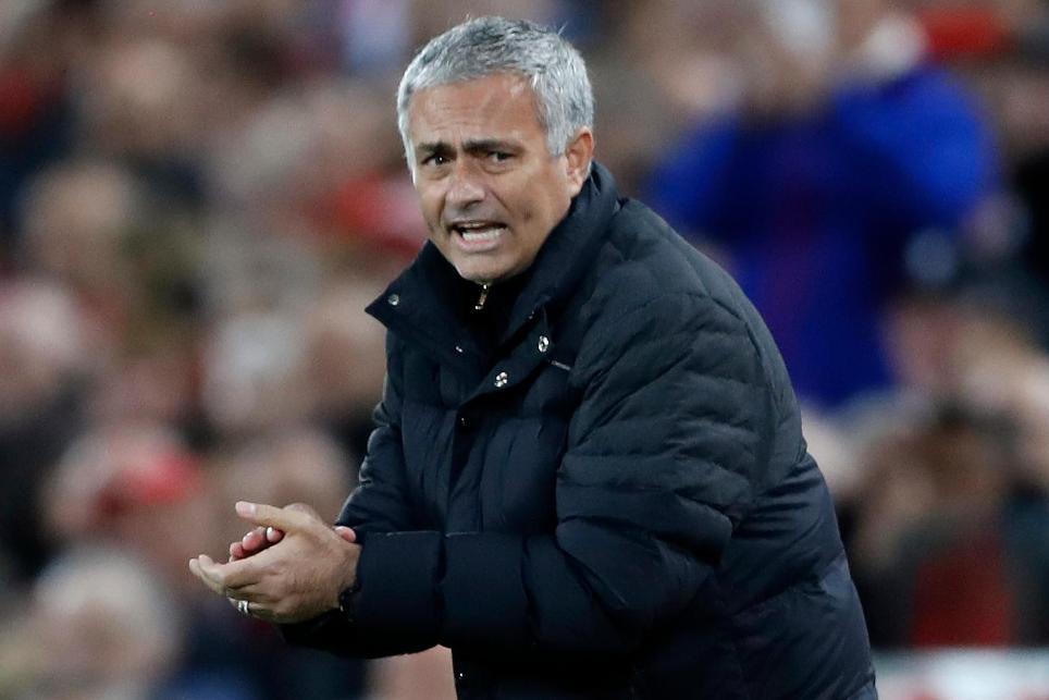 Liverpool v Manchester United, 171016, Jose Mourinho