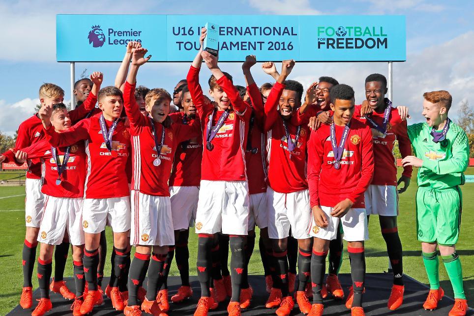 8edf033115c18 Man Utd win Football for Freedom tournament